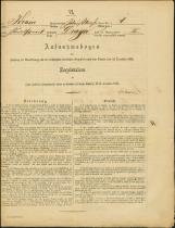 Popis prebivalstva 31. 12. 1869<br />Občina Bela Cerkev<br />Draga 1<br />Population census 31 December 1869<br />Municipality Bela Cerkev