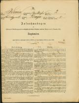 Popis prebivalstva 31. 12. 1869<br />Občina Bela Cerkev<br />Draga 2<br />Population census 31 December 1869<br />Municipality Bela Cerkev