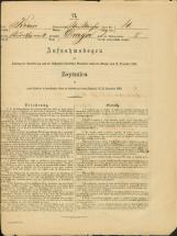 Popis prebivalstva 31. 12. 1869<br />Občina Bela Cerkev<br />Draga 4<br />Population census 31 December 1869<br />Municipality Bela Cerkev
