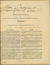Popis prebivalstva 31. 12. 1869<br />Občina Bela Cerkev<br />Stranje pri Škocjanu 1<br />Population census 31 December 1869<br />Municipality Bela Cerkev