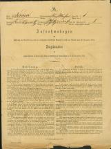 Popis prebivalstva 31. 12. 1869<br />Občina Bela Cerkev<br />Strelac 1<br />Population census 31 December 1869<br />Municipality Bela Cerkev