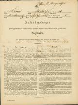 Popis prebivalstva 31. 12. 1869<br />Občina Bela Cerkev<br />Strelac 13<br />Population census 31 December 1869<br />Municipality Bela Cerkev