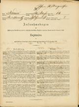 Popis prebivalstva 31. 12. 1869<br />Občina Bela Cerkev<br />Strelac 14<br />Population census 31 December 1869<br />Municipality Bela Cerkev