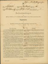 Popis prebivalstva 31. 12. 1869<br />Občina Bela Cerkev<br />Strelac 15<br />Population census 31 December 1869<br />Municipality Bela Cerkev