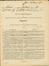 Popis prebivalstva 31. 12. 1869<br />Občina Bela Cerkev<br />Strelac 17<br />Population census 31 December 1869<br />Municipality Bela Cerkev