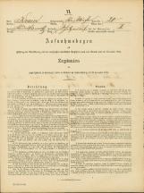Popis prebivalstva 31. 12. 1869<br />Občina Bela Cerkev<br />Strelac 20<br />Population census 31 December 1869<br />Municipality Bela Cerkev