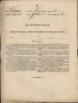 Popis prebivalstva 31. 12. 1869<br />Občina Črmošnjice<br />Gaber pri Črmošnjicah 1<br />Population census 31 December 1869<br />Municipality Črmošnjice