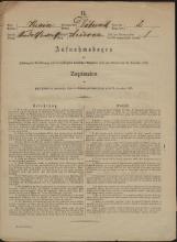 Popis prebivalstva 31. 12. 1869<br />Občina Dobrnič<br />Arčelca 2<br />Population census 31 December 1869<br />Municipality Dobrnič