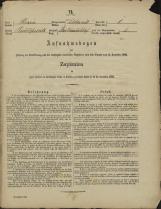 Popis prebivalstva 31. 12. 1869<br />Občina Dobrnič<br />Artmanja vas 1<br />Population census 31 December 1869<br />Municipality Dobrnič