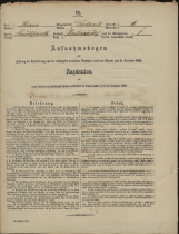 Popis prebivalstva 31. 12. 1869<br />Občina Dobrnič<br />Artmanja vas 6<br />Population census 31 December 1869<br />Municipality Dobrnič