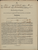 Popis prebivalstva 31. 12. 1869<br />Občina Dobrnič<br />Artmanja vas 8<br />Population census 31 December 1869<br />Municipality Dobrnič