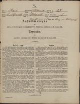 Popis prebivalstva 31. 12. 1869<br />Občina Dobrnič<br />Dobrnič 25<br />Population census 31 December 1869<br />Municipality Dobrnič