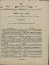 Popis prebivalstva 31. 12. 1869<br />Občina Dobrnič<br />Dobrnič 28<br />Population census 31 December 1869<br />Municipality Dobrnič