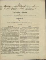 Popis prebivalstva 31. 12. 1869<br />Občina Dobrnič<br />Dolenje Selce 2<br />Population census 31 December 1869<br />Municipality Dobrnič