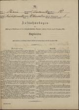 Popis prebivalstva 31. 12. 1869<br />Občina Dobrnič<br />Gorenje Selce 10<br />Population census 31 December 1869<br />Municipality Dobrnič