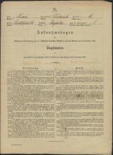 Popis prebivalstva 31. 12. 1869<br />Občina Dobrnič<br />Zagorica pri Dobrniču 6<br />Population census 31 December 1869<br />Municipality Dobrnič