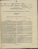 Popis prebivalstva 31. 12. 1869<br />Občina Dobrnič<br />Zagorica pri Dobrniču 0<br />Population census 31 December 1869<br />Municipality Dobrnič