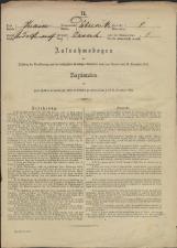 Popis prebivalstva 31. 12. 1869<br />Občina Dobrnič<br />Zavrh 1<br />Population census 31 December 1869<br />Municipality Dobrnič
