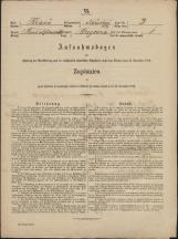 Popis prebivalstva 31. 12. 1869<br />Občina Mirna<br />Brezovica pri Mirni 3<br />Population census 31 December 1869<br />Municipality Mirna