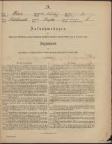 Popis prebivalstva 31. 12. 1869<br />Občina Mirna<br />Brgles 3<br />Population census 31 December 1869<br />Municipality Mirna