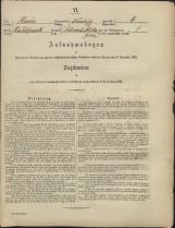 Popis prebivalstva 31. 12. 1869<br />Občina Mirna<br />Selska Gora 4<br />Population census 31 December 1869<br />Municipality Mirna