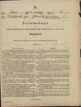 Popis prebivalstva 31. 12. 1869<br />Občina Mirna<br />Gomila 3<br />Population census 31 December 1869<br />Municipality Mirna