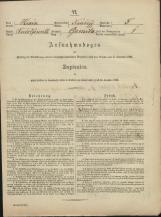 Popis prebivalstva 31. 12. 1869<br />Občina Mirna<br />Gomila 5<br />Population census 31 December 1869<br />Municipality Mirna