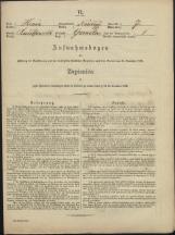 Popis prebivalstva 31. 12. 1869<br />Občina Mirna<br />Gomila 7<br />Population census 31 December 1869<br />Municipality Mirna