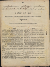 Popis prebivalstva 31. 12. 1869<br />Občina Mirna<br />Gorenja vas pri Mirni 1<br />Population census 31 December 1869<br />Municipality Mirna