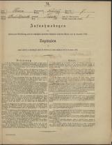 Popis prebivalstva 31. 12. 1869<br />Občina Mirna<br />Tihaboj 7<br />Population census 31 December 1869<br />Municipality Mirna