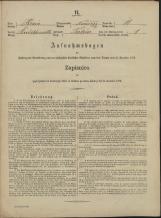 Popis prebivalstva 31. 12. 1869<br />Občina Mirna<br />Trbinc 10<br />Population census 31 December 1869<br />Municipality Mirna