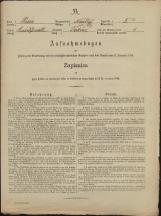 Popis prebivalstva 31. 12. 1869<br />Občina Mirna<br />Trbinc 5<br />Population census 31 December 1869<br />Municipality Mirna
