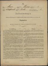 Popis prebivalstva 31. 12. 1869<br />Občina Prečna<br />Boršt 1<br />Population census 31 December 1869<br />Municipality Prečna