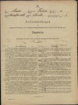 Popis prebivalstva 31. 12. 1869<br />Občina Prečna<br />Boršt 2<br />Population census 31 December 1869<br />Municipality Prečna