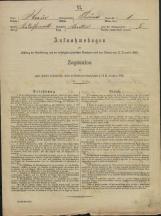 Popis prebivalstva 31. 12. 1869<br />Občina Prečna<br />Bršljin 1<br />Population census 31 December 1869<br />Municipality Prečna