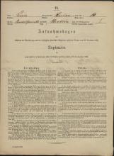 Popis prebivalstva 31. 12. 1869<br />Občina Prečna<br />Bršljin 10<br />Population census 31 December 1869<br />Municipality Prečna