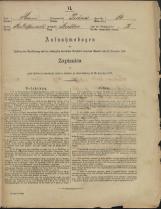 Popis prebivalstva 31. 12. 1869<br />Občina Prečna<br />Bršljin 14<br />Population census 31 December 1869<br />Municipality Prečna