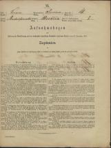 Popis prebivalstva 31. 12. 1869<br />Občina Prečna<br />Bršljin 18<br />Population census 31 December 1869<br />Municipality Prečna