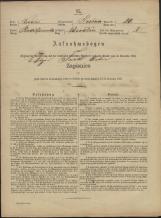 Popis prebivalstva 31. 12. 1869<br />Občina Prečna<br />Bršljin 20<br />Population census 31 December 1869<br />Municipality Prečna