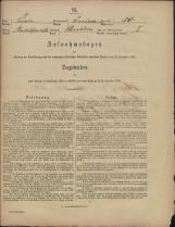 Popis prebivalstva 31. 12. 1869<br />Občina Prečna<br />Bršljin 23<br />Population census 31 December 1869<br />Municipality Prečna