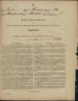 Popis prebivalstva 31. 12. 1869<br />Občina Prečna<br />Bršljin 24<br />Population census 31 December 1869<br />Municipality Prečna