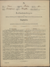 Popis prebivalstva 31. 12. 1869<br />Občina Prečna<br />Bršljin 0<br />Population census 31 December 1869<br />Municipality Prečna