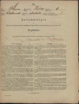 Popis prebivalstva 31. 12. 1869<br />Občina Prečna<br />Muhaber 8<br />Population census 31 December 1869<br />Municipality Prečna