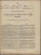 Popis prebivalstva 31. 12. 1869<br />Občina Prečna<br />Podgora 1<br />Population census 31 December 1869<br />Municipality Prečna