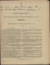 Popis prebivalstva 31. 12. 1869<br />Občina Prečna<br />Podgora 14<br />Population census 31 December 1869<br />Municipality Prečna