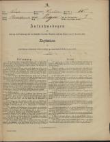 Popis prebivalstva 31. 12. 1869<br />Občina Prečna<br />Podgora 15<br />Population census 31 December 1869<br />Municipality Prečna