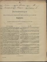 Popis prebivalstva 31. 12. 1869<br />Občina Prečna<br />Podgora 18<br />Population census 31 December 1869<br />Municipality Prečna