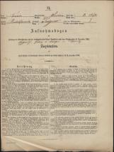Popis prebivalstva 31. 12. 1869<br />Občina Prečna<br />Podgora 2<br />Population census 31 December 1869<br />Municipality Prečna