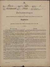 Popis prebivalstva 31. 12. 1869<br />Občina Trebnje<br />Blato 1<br />Population census 31 December 1869<br />Municipality Trebnje