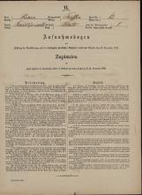 Popis prebivalstva 31. 12. 1869<br />Občina Trebnje<br />Blato 12<br />Population census 31 December 1869<br />Municipality Trebnje